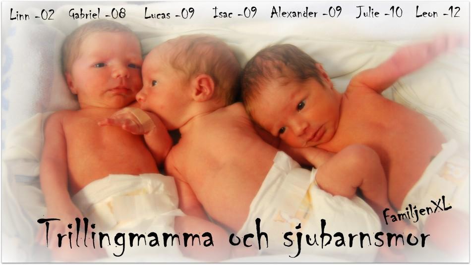 Trillingmamma och sjubarnsmor